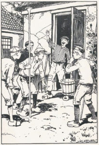 Illustratie uit Petro, de acrobaat, 1929