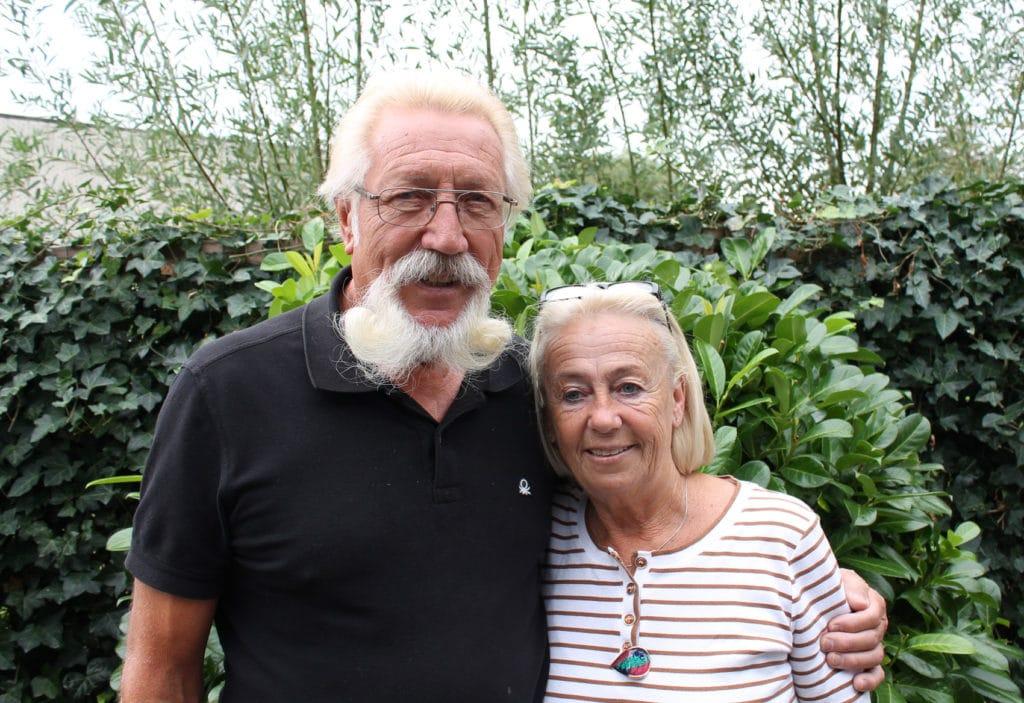 Cor Couveld en zijn vrouw Elma in 2016